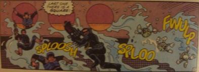 Excellent Comic #8-Anti-Grav Sliding Away!
