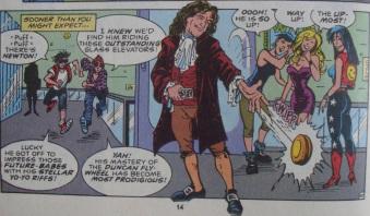 Excellent Comic #8-Newton's New Skill!