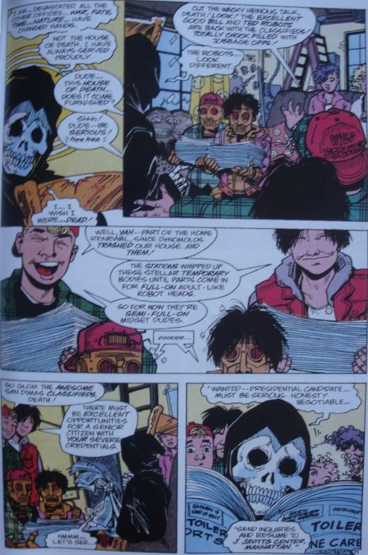 Excellent Comic #9-Back On The Job Hunt!