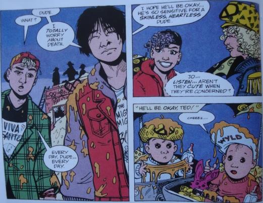Excellent Comic #9-Depressed For Death!