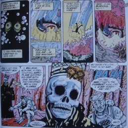 Excellent Comic #9-Out Of The Deep & Into The Blaze!