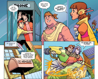 Most Triumphant Return #3-Trouble's On The Way!