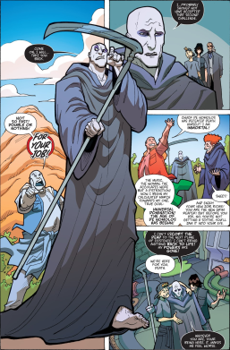 Most Triumphant Return #5-Death Is Out Of A Job!